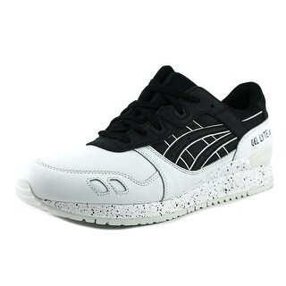 Asics Gel-Lyte III Men  Round Toe Leather Black Running Shoe