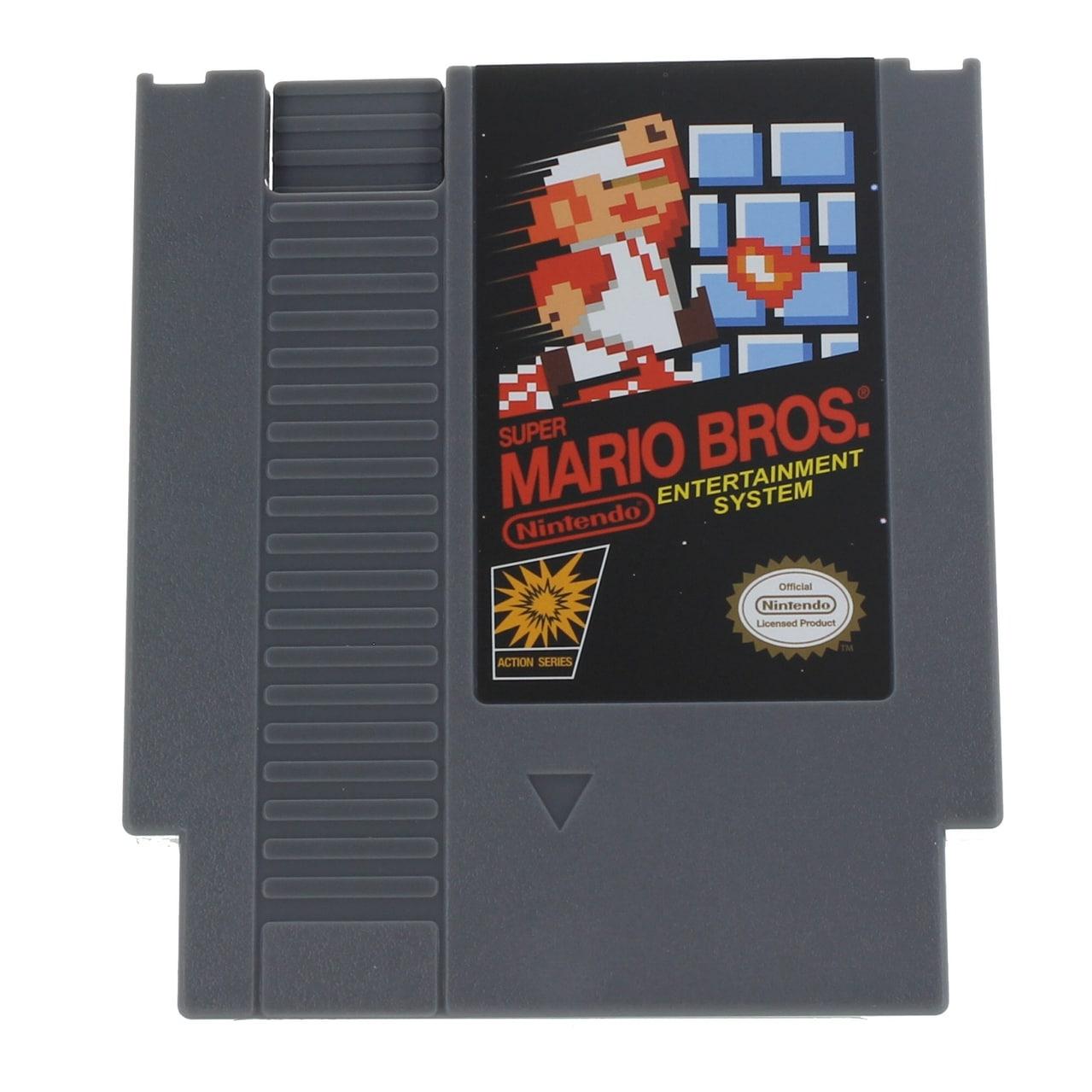 Shop Super Mario Bros 4 5oz Nes Cartridge Flask Multi