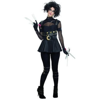 Edward Scissorhands Female Costume Large,Medium,Small,X-Small