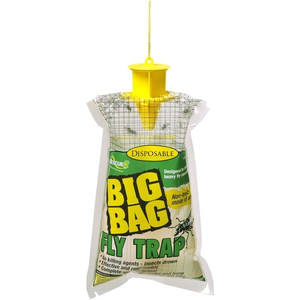 Rescue BFTD-DB12 Big Bag Disposable Fly Trap