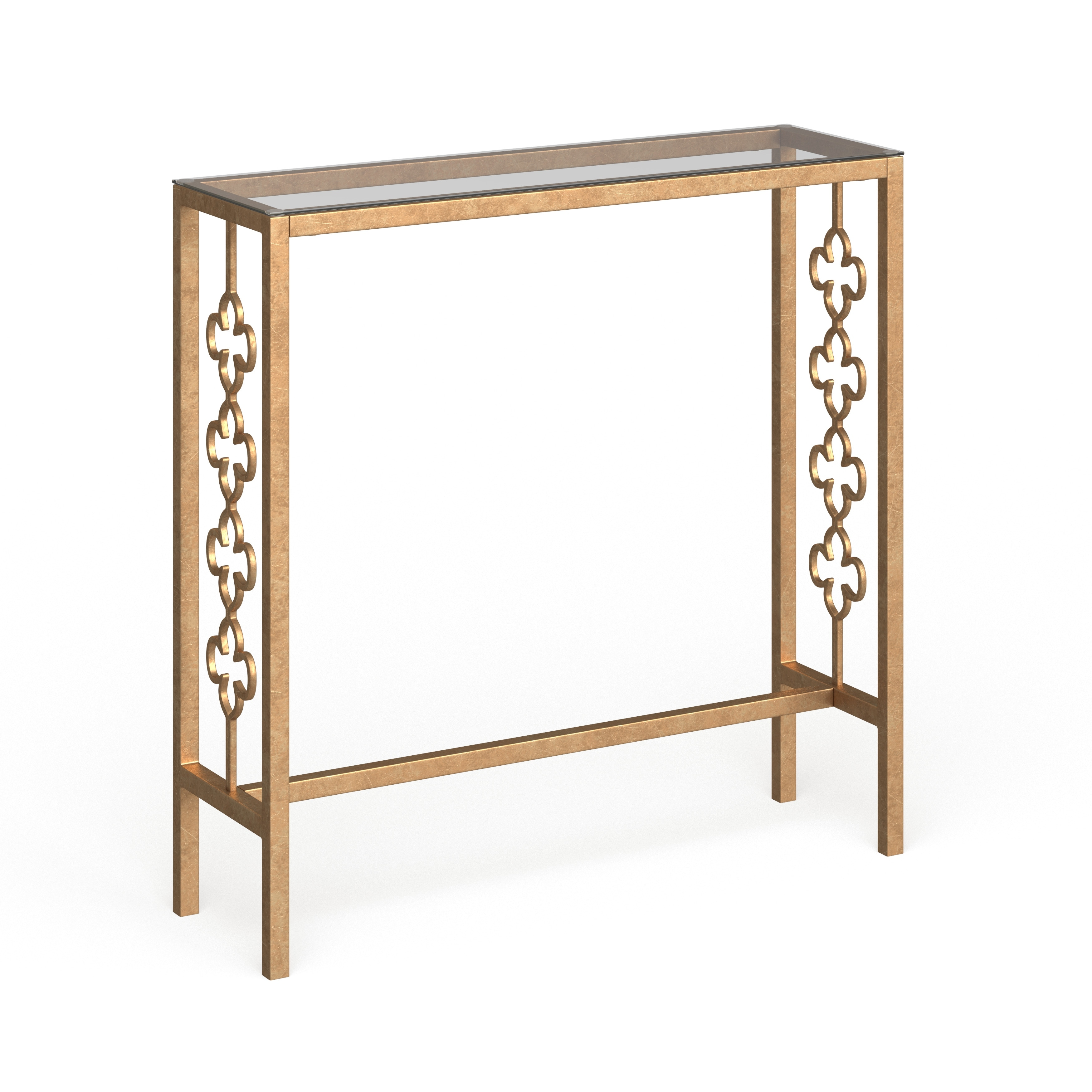 Safavieh Jovanna Antique Gold Leaf Console Table 36 8 X 11 1 X 37 On Sale Overstock 10856975