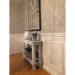 Del Hutson Designs Barnwood Sofa Table