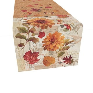 Link to Fall Foliage Table Runner - 13x90 Similar Items in Table Linens & Decor