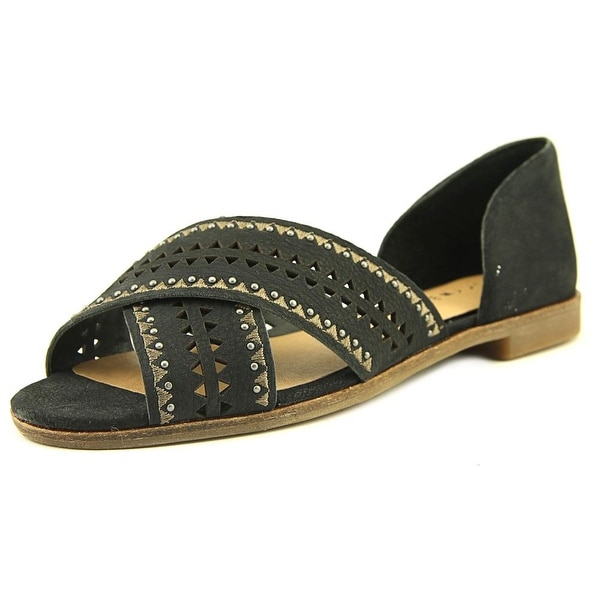 Lucky Brand Gallah Black Sandals