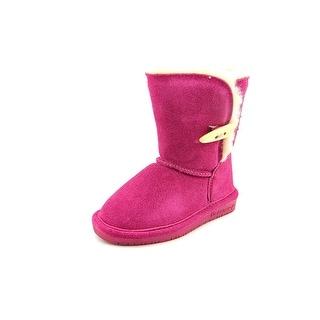 Bearpaw Abigail Toddler Toddler Round Toe Suede Pink Winter Boot