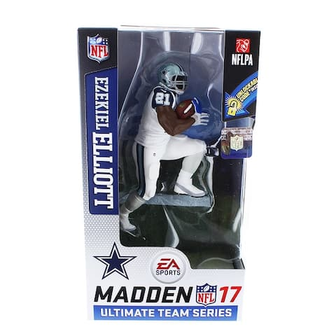 Dallas Cowboys Madden NFL 17 S2 Figure: Ezekiel Elliot (Color Rush Uniform) - multi