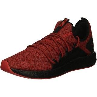 Puma Men's Nrgy Neko Knit Sneaker, Ribbon Red Black, 11.5 M Us