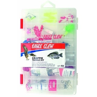 Eagle Claw Crappie Fishing Tackle Kit