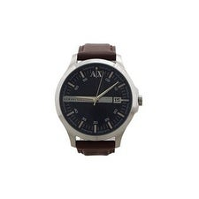 Armani Exchange Ax2133 Brown Leather Strap Watch Watch For Men