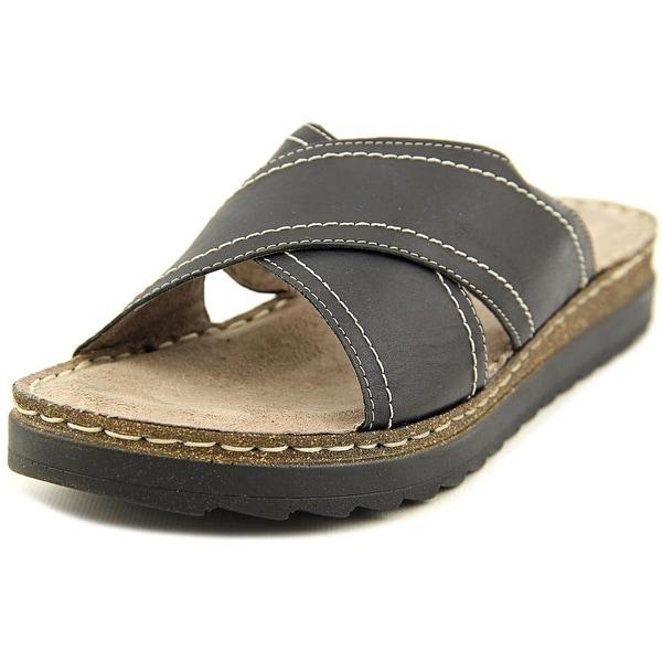 Bella Vita Fasano Women Open Toe Leather Slides Sandal