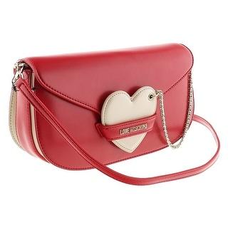 Moschino JC4043 150A Red/Ivory Shoulder Bag