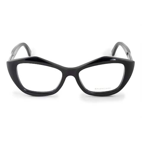 Balenciaga Balenciaga BA 5074 001 53 Geometric Cat Eye Eyeglasses Frames