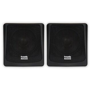 Acoustic Audio AA051B Mountable Indoor or Outdoor Speakers Black Pair