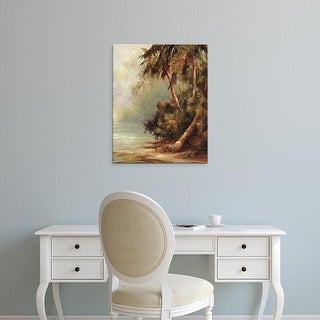 Easy Art Prints Malarz's 'Hidden Cove' Premium Canvas Art