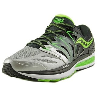 Saucony Hurricane Iso 2 Round Toe Synthetic Running Shoe