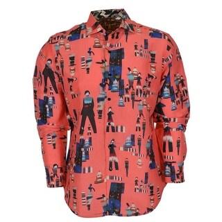 Robert Graham Classic Fit YOSEMITE VALLEY Numbered LTD Edition Sports Shirt M - yosemite valley