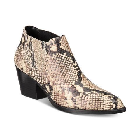 Aldo Womens canedy Lizard Pointed Toe Ankle Fashion Boots