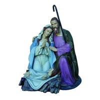 5' Giant Commercial Grade Fiberglass Holy Family Christmas Outdoor Decoration - multi