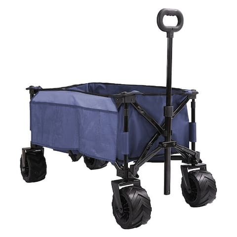 Collapsible Wagon Cart with Big Wheels