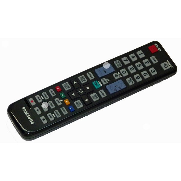 OEM Samsung Remote Control Originally Shipped With: UE40D5000PW, UE46D5000PW, UE19D4020NWXXU