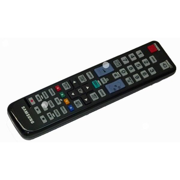 OEM Samsung Remote Control Originally Shipped With: UE40D5000PWXXU, UE46D5000PWXXU, UE32D4000NWXXU