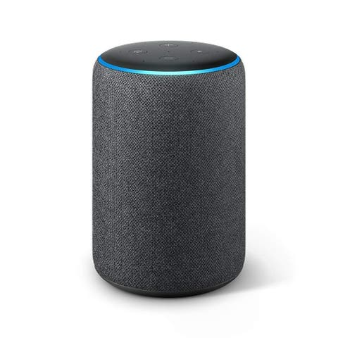 Amazon Echo Plus (2nd Gen) - Premium sound with built-in smart home hub - Charcoal