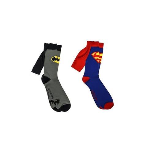 Bioworld DC Comics Women Knee High Shiny Caped Socks OS