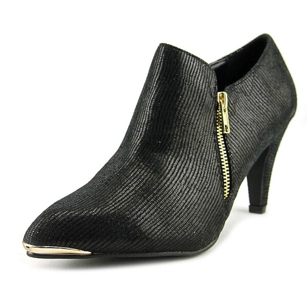Bellini Grace Pointed Toe Canvas Bootie