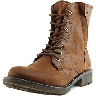 American Rag Essex Women Round Toe Synthetic Brown Mid Calf Boot