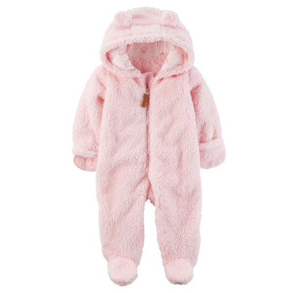 47b4c1b3833b Shop Carter s Baby Girls  Hooded Sherpa Pram Sleep   Play