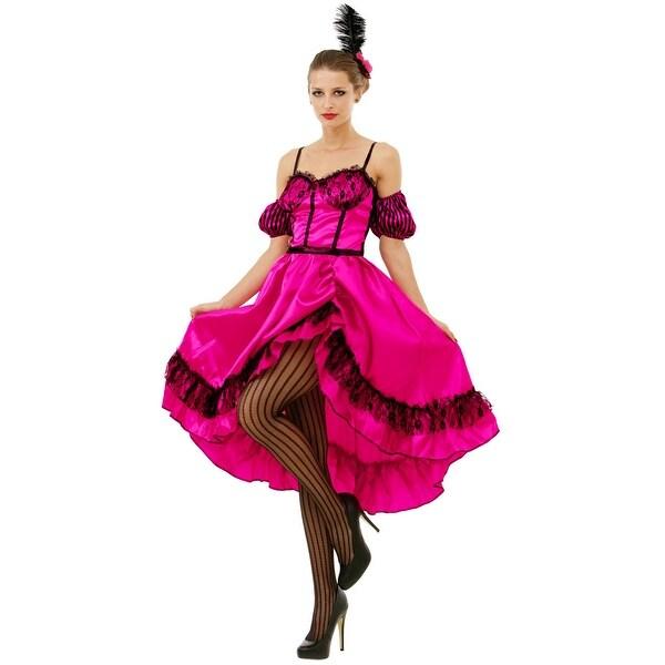 ab1355b4f719d Saloon Sweetheart Costume, S