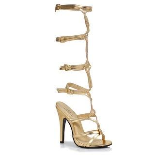 Womens Gold Goddess Heels