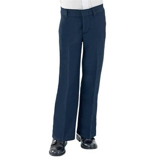 French Toast Boys 8-20 Flat Front Flannel School Pant