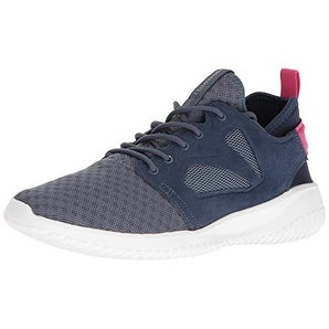 Reebok Women's Skycush Evolution Fashion Sneaker - royal slate/collegiate navy/rose rage/white