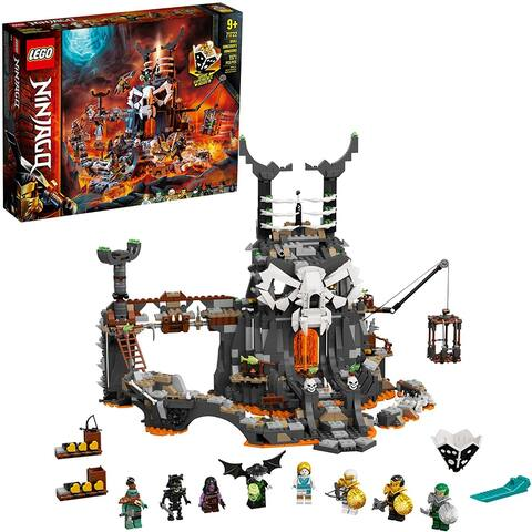 Lego 71722 Ninjago Skull Sorcerer's Dungeons Playset, 1171 Pieces