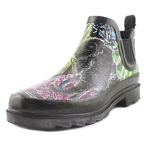 Sakroots Rhyme Women Round Toe Synthetic Multi Color Rain Boot