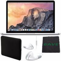 Apple 15.4 inch MacBook Pro Laptop Computer with Retina Display Bundle