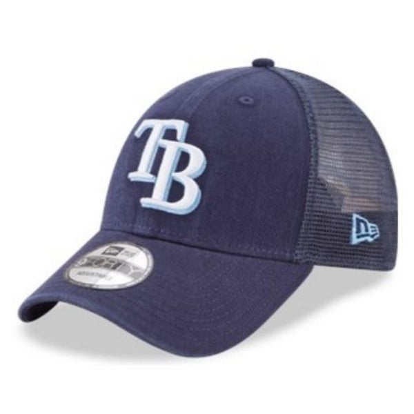 bc44e1cb49ded Shop New Era MLB Tampa Bay Rays Baseball Hat Cap 940 Trucker Snapback  11591190 - Free Shipping On Orders Over  45 - Overstock - 22088298