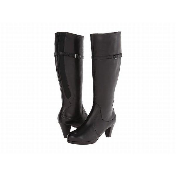 Vaneli NEW Black Larinda Shoes Size 11M Knee-High Leather Boots