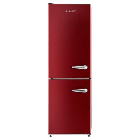 iio 11 Cu. Ft. Retro Refrigerator with Bottom Freezer (Left Hinge)