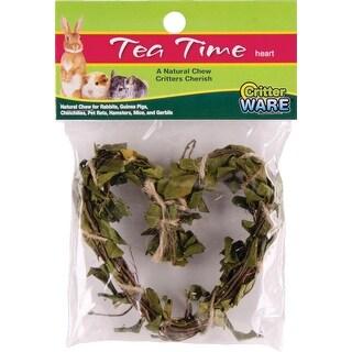 Tea Time Heart Natural Chew