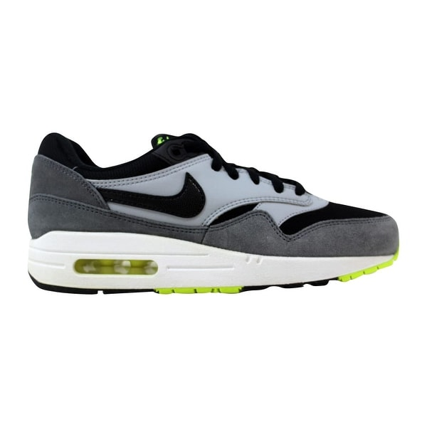 sports shoes e965a 883cf Nike Air Max 1 Black Black-White-Dark Grey 555766-047 Grade