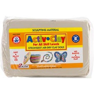 White - Activ-Clay Air-Dry Clay 3.3Lb