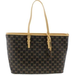 Bebe Womens Reese Tote Handbag Faux Leather Printed - Natural - Large|https://ak1.ostkcdn.com/images/products/is/images/direct/aba7689c877a3539140988fb5f317338ef2bca88/Bebe-Womens-Reese-Tote-Handbag-Faux-Leather-Printed.jpg?impolicy=medium