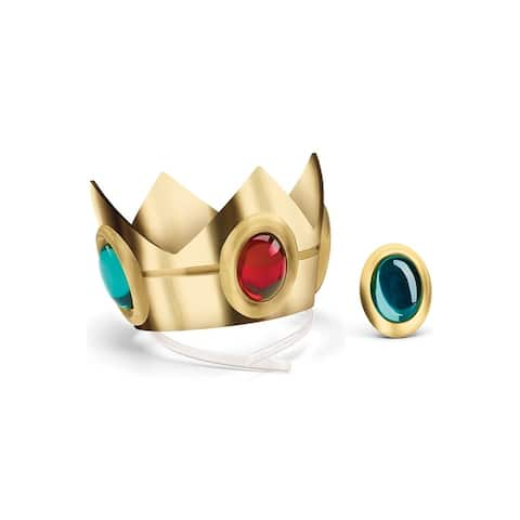 Disguise Princess Peach Crown and Amulet - Gold