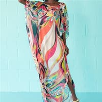 Beach Dress Kaftan Pareo Sarongs  Cover-Up Chiffon Bikini Swimwear Tunic Swimsuit Bathing Suit Cover Ups Robe De Plage