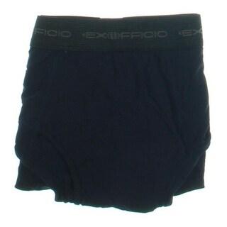 ExOfficio Mens Textured Solid Boxer Briefs - L