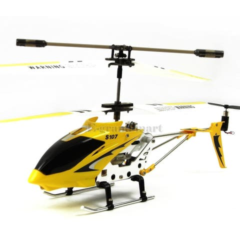 Cheerwing S107 Mini Alloy Remote Control RC Helicopter Gyro