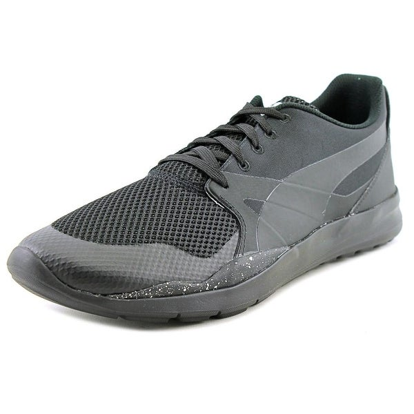 Puma Duplex Evo Olympics Men Round Toe Synthetic Black Tennis Shoe