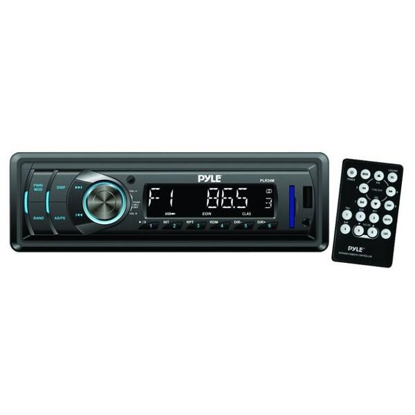 Pyle Receiver MP3/USB/SD Detachable